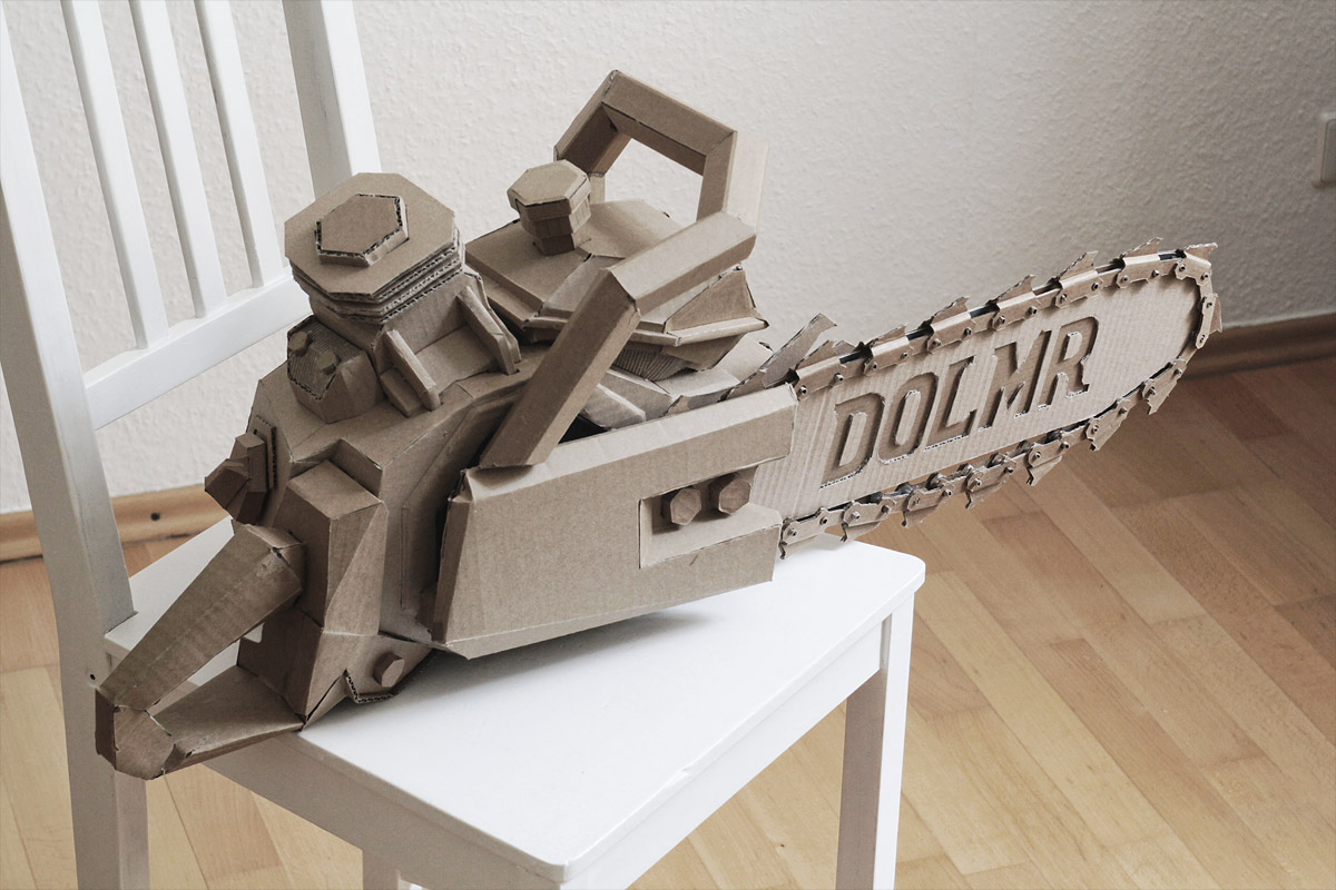Bartek Elsner Cardboard Sculpture